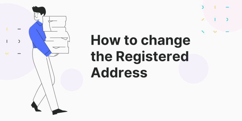 How To Change The Registered Address