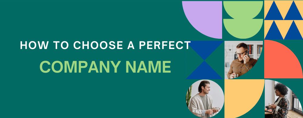 How to choose a company name